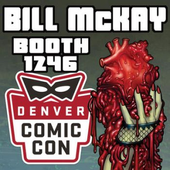 Denver Comic Con 2017 by BillMcKay