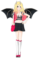 Adoptable Demongirl Auction ::CLOSED:: by seashellskeeper