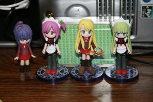 Negima Figures by Lordviral