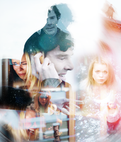 Sherlock Holmes and Rose Tyler. by MsQuinzel