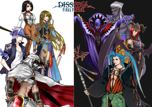 Dissidia 3 Final Fantasy  Preditions by AndsportsART
