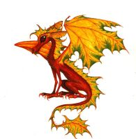 Maple Leaf Dragon by sladeside