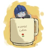 Mirage in the mug by umitaro