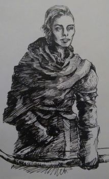 Ranger Woman with Bow by Synefarah