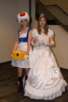Me and my Toad - Ohayocon 2011 by FuzzyRedPants
