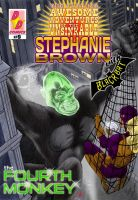 Steph Brown Adventures cover #9 by Chickfighter