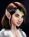 Elven Princess by Chrissante