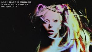 GAGA X MUGLER WALLPAPER by cocooh