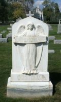 Mount Olivet Cemetery Angel 13 by Falln-Stock