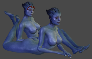 Samara and Morinth Nude DL by TheRaiderInside