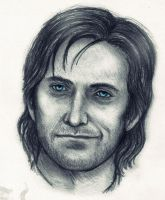 Guy of Gisborne - fast sketch by TheHellcow