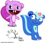 Toothy and Petunia by terin814