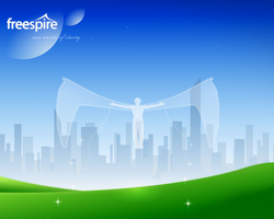 FreeSpire Contest Wallpaper by da-flow