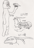 SCP Sketches part 1 by LPS100