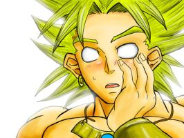 Broly Says: Why You kissed me? by BrolyManiac