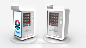 Pokeball Vending Machine by PixelPandaa