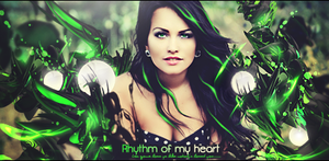 Rhythm of my heart by Drezzwanu