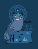 Namesake - Sourire du Chat de Cheshire by secondlina