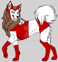 Marvel Husky Adopt Scarlet Witch OPEN 5 Points by psychotara