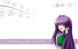 Fujibayashi Kyou Wallpaper by Dismal-Sentinel