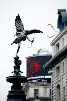 Picadilly Circus Angel by Millirat