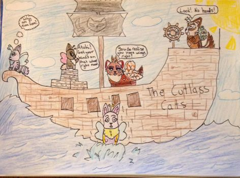 [Ocean Wars] The Cutlass Cats by KittyWhiskersMeow