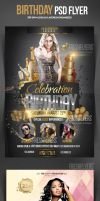 Birthday Party PSD Flyer Template by ImperialFlyers