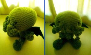 little cthulhu by adorablestejidos