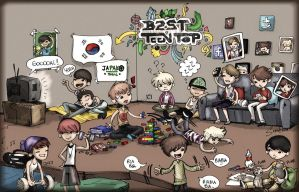 B2ST / TEEN TOP - Just Like A Family by JapakoMusic