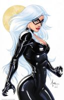 Black Cat By Billy Tucci by BillyTucci