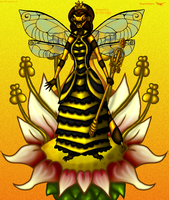 .:Queen Bee:. by SassyRaptor