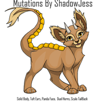 Ovipets Catus Mutations by shadowjess
