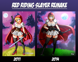 REMAKE: Red Riding Slayer by jadenkaiba