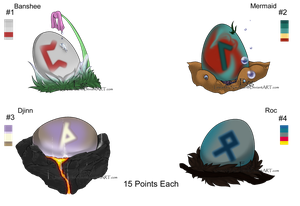100-10 Themes! - Myth Egg Adopts #2 - Adopted