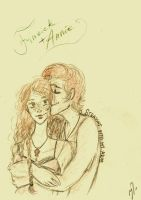 Finnick and Annie: Out of the sea by xxIgnisxx