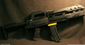 The Beast Heavy Gunner Rifle by JohnsonArmsProps