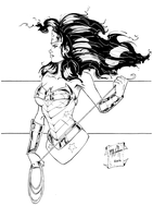 Wonder Woman by Rexbegonia