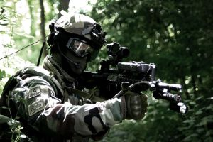 French Special Forces airsoft reconstitution by Gollum-net
