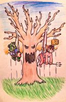 Night of the Hanging Dorks by StretchMyWhities