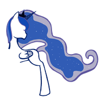 Princess Luna thing by Hamsters4evr