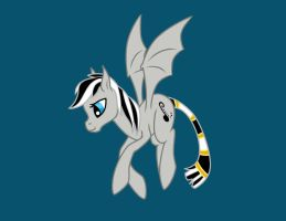 Silver Fly-Pose by PamPoke