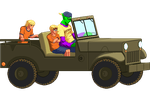 Piccolo jeep driver by Balthazar321