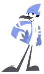 Lineless Mordecai by Dizzee-Toaster