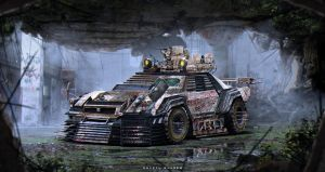 Nissan R34 | Zombie Apocalypse Vehicle by The--Kyza