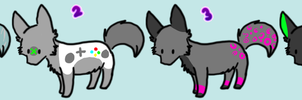 Cheap Wolf Adopts -Closed- by Chieko-Adopts