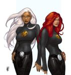 AH storm and jean v2 by cakes