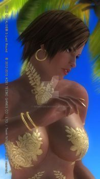 DEAD OR ALIVE 5 Last Round  Lisa4 by aponyan