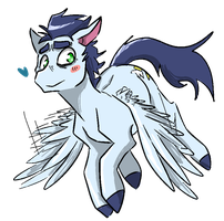 flying bae by CleppyClep