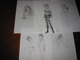 my characterzzz... by Vallia