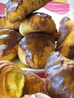 Chocolate Croissants by TheEndWhereIBegin